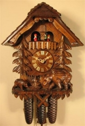 Musical 8 Day Cuckoo Clock With Mother Bear & Cub Romba  4563 / 8391