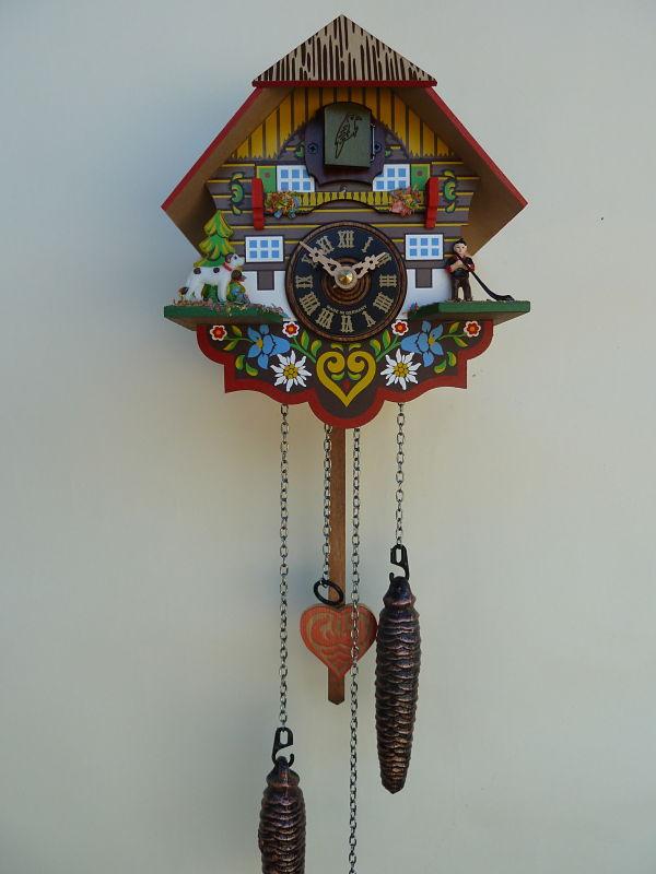 River City Multi Colored Quartz Cuckoo Clock M8 08pq