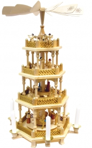 4 tier Christmas Pyramid