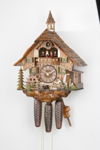 Musical Shingle Splitter Cuckoo Clock