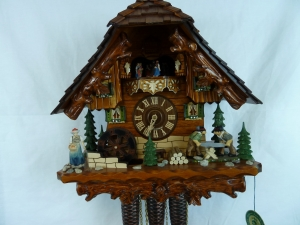 Deluxe Wood Sawing Cuckoo Chalet  OUT OF STOCK END OF FEB
