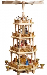 4 tiers Nativity Christmas Pyramid 16723