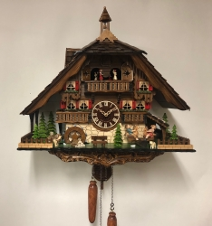 Large Bell Tower/Water Wheel House Quartz Cuckoo Clock  SOLD OUT OF STOCK