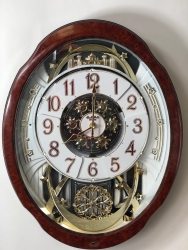 Woodgrain Marvelous Rhythm Clock