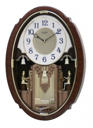Rhythm Organ Symphony clock   4MH846PD23  SOLD OUT RETIRED