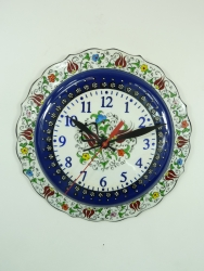 Medium dark Blue Kitchen Clock
