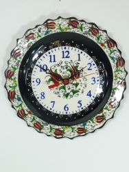 Black Turkish Clock